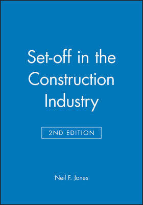 Set-off in the Construction Industry by Neil F. Jones