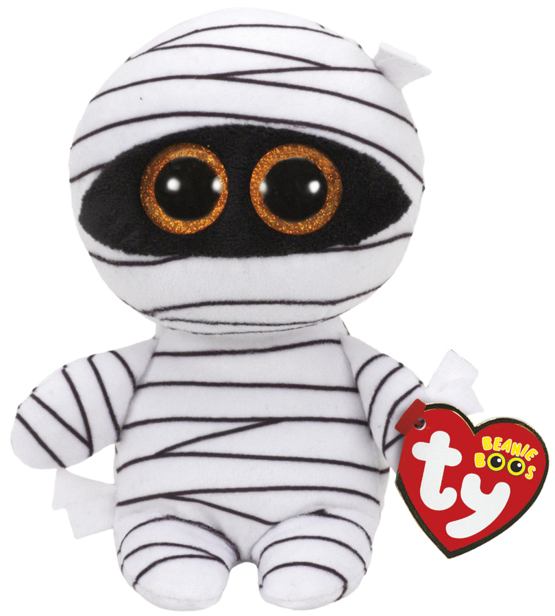 Ty Beanie Boo's: Mummy White - Small Plush image