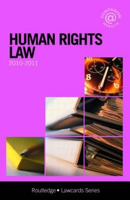 Human Rights Lawcards: 2010-2011
