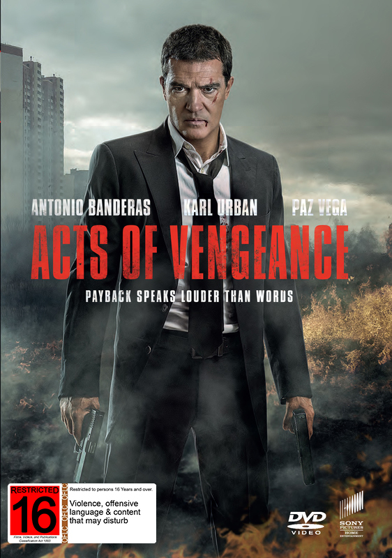 Acts of Vengeance on DVD