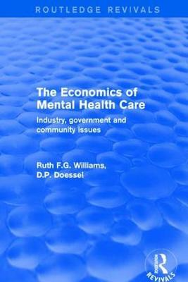 The Economics of Mental Health Care by Ruth F.G. Williams image