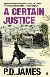 A Certain Justice by P.D. James image