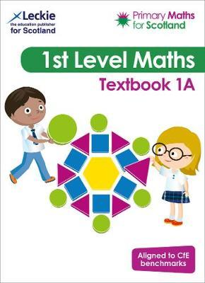 Primary Maths for Scotland Textbook 1A by Craig Lowther image