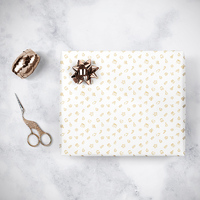 Gorilla Gift: Wrapping Paper - Christmas White (5m) image