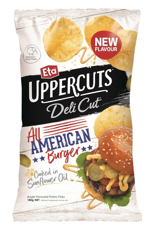 Eta Uppercuts: Delicut - American Burger (12 x 140g)