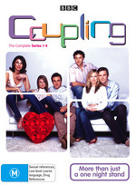 Coupling - Complete Series 1-4 (6 Disc Box Set) on DVD