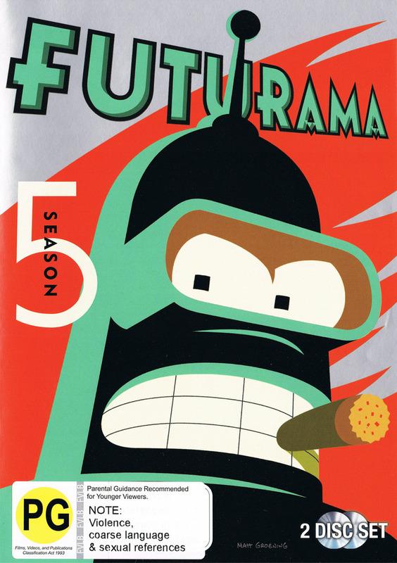 Futurama - Season 5 on DVD