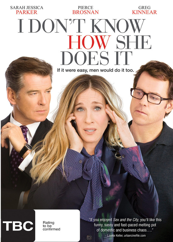 I Don't Know How She Does It on DVD