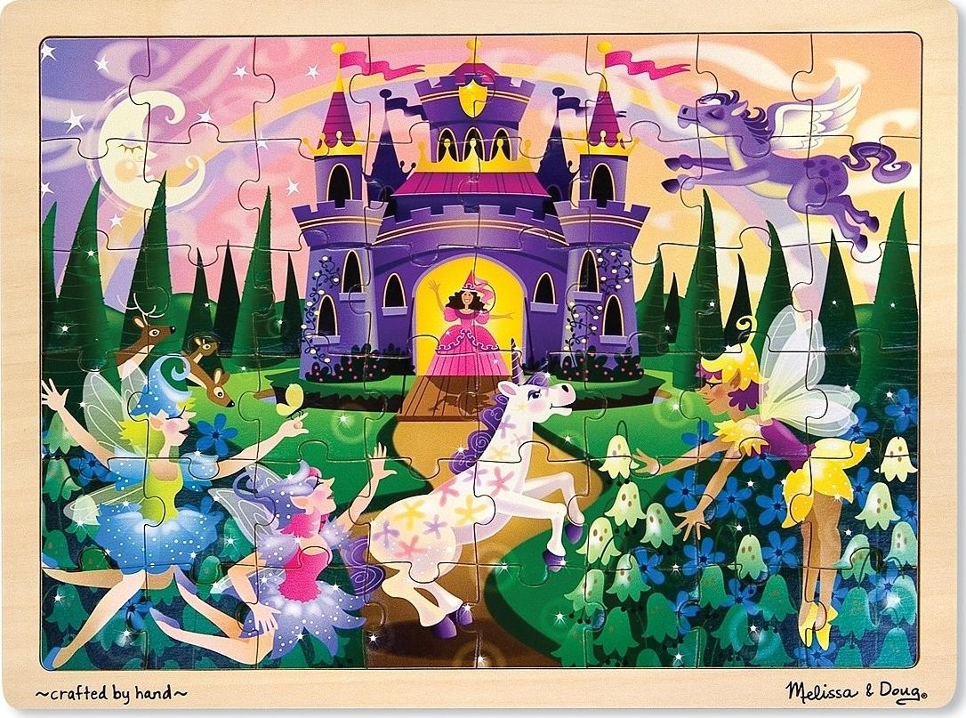 Melissa & Doug: Fairy Fantasy Jigsaw Puzzle - 48 Pieces image