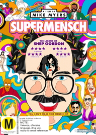 Supermensch: The Legend Of Shep Gordon on DVD