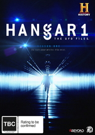 Hangar 1: The UFO Files Season 1 on DVD