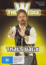 Wedge, The - Vol. 4: That's Valid! on DVD