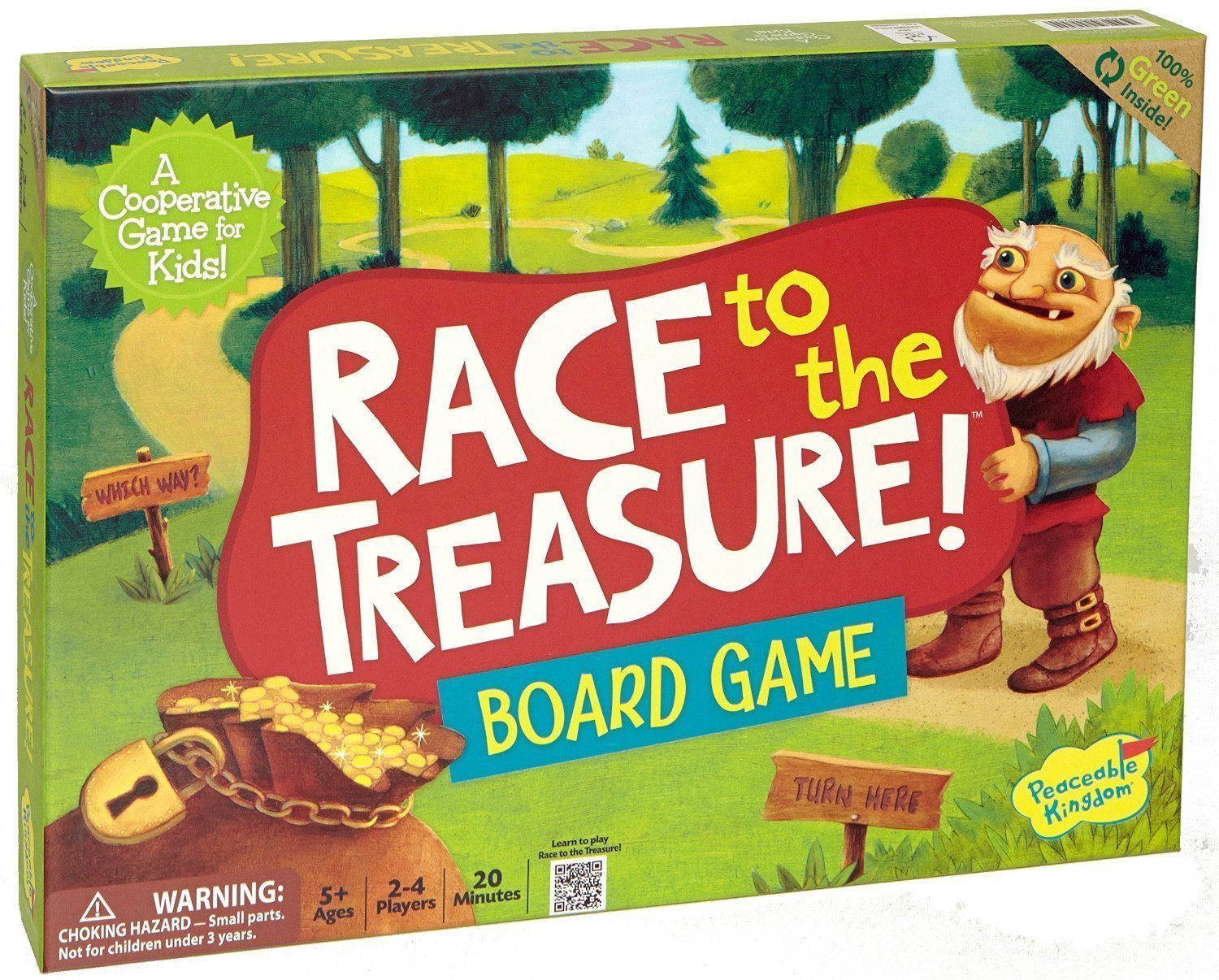 Peaceable Kingdom: Race to the Treasure! - Cooperative Game image