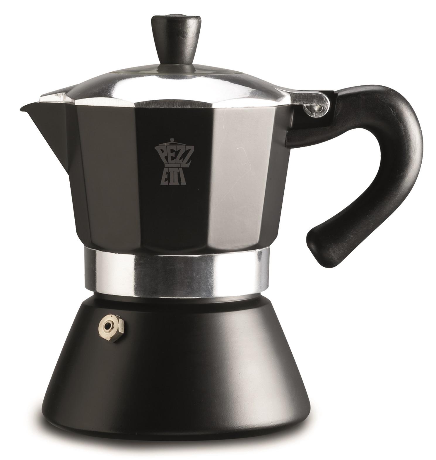 pezzetti bellexpress black induction coffee maker 6c at. Black Bedroom Furniture Sets. Home Design Ideas