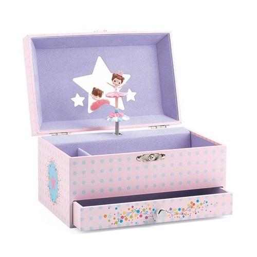 Djeco: The Ballerinas Tune Musical Trinket Box