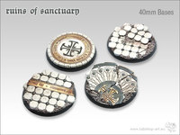 Tabletop-Art: Ruins of Sanctuary Bases - (40mm)