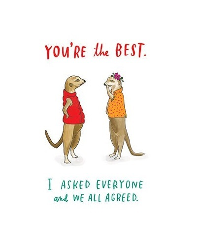 Emily McDowell: You're The Best - Greeting Card