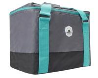 Smash: Crosscut Cooler Bag - Grey/Teal (30L)