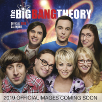 Big Bang Theory 2019 Square Wall Calendar