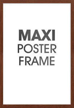 Maxi Poster Frame - Walnut image