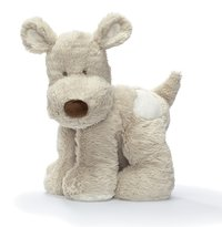 Teddykompaniet: Teddy Cream Dog Large - Grey