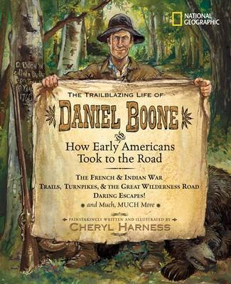 Trailblazing Life of Daniel Boone and How Early am by Cheryl Harness image