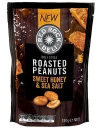 Red Rock Deli: Coated Peanuts - Sweet Honey & Sea Salt (130g)