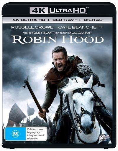 Robin Hood on UHD Blu-ray