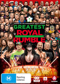 WWE: Greatest Royal Rumble 2018 on DVD