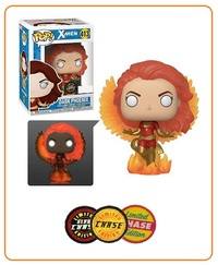 Marvel - Dark Phoenix (Flames) Pop! Vinyl Figure (with a chance for a Chase version!) image