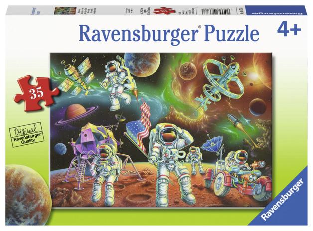 Ravensburger: 35 Piece Puzzle - Moon Landing