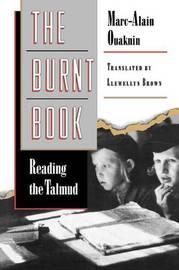 The Burnt Book by Marc-Alain Ouaknin