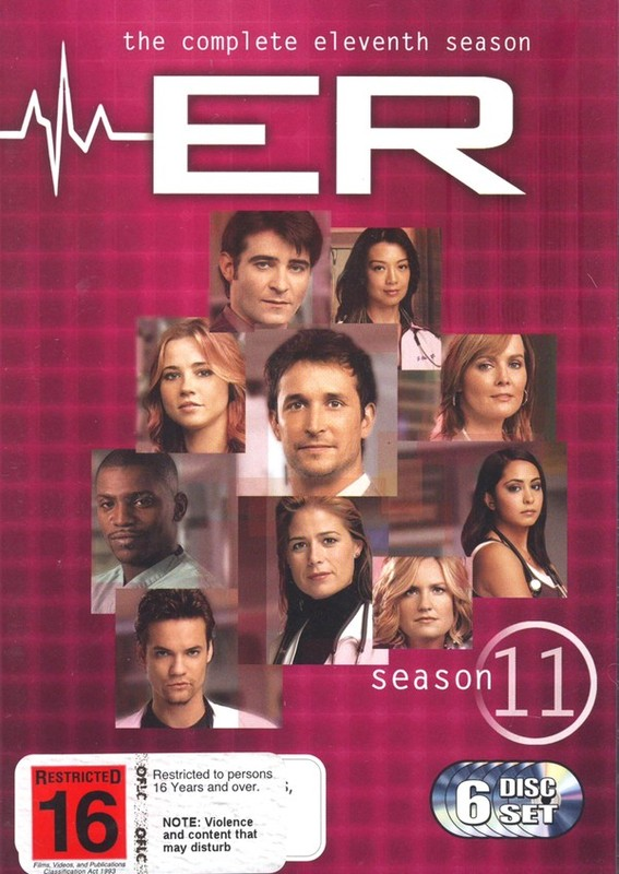 E.R. - The Complete 11th Season (6 Disc Set) on DVD
