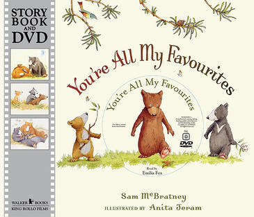 You're All My Favourites - Book + DVD by Sam McBratney