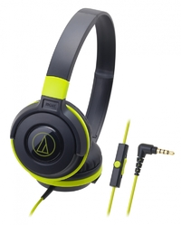 Audio-Technica ATH-S100iS DJ Headphones (Green)