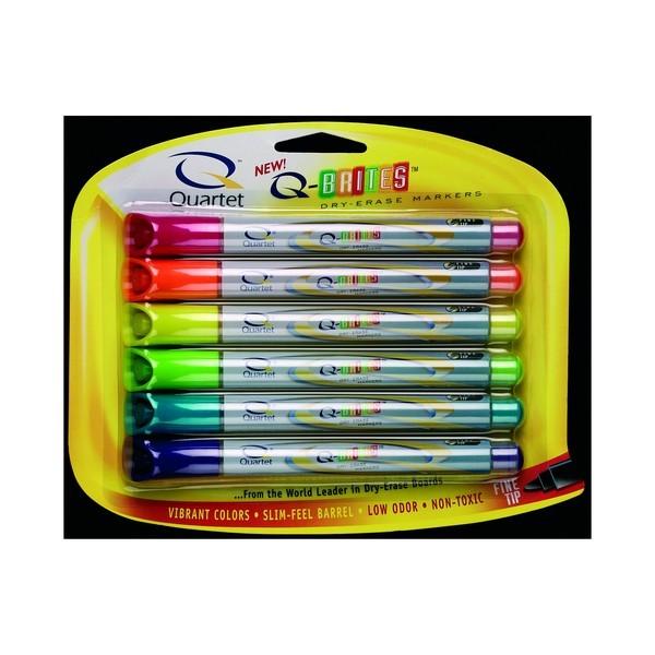 Quartet Neon Markers - Fine Tip (6 Pack)