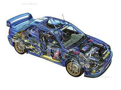 Subaru Impreza Group A Rally Car Owners' Workshop Manual