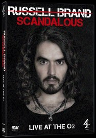 Russell Brand - Scandalous: Live at the O2 on DVD
