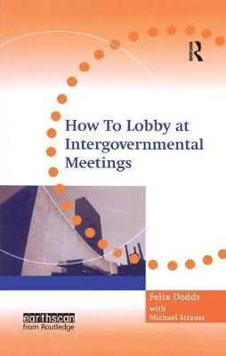How to Lobby at Intergovernmental Meetings by Michael Strauss image