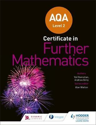 AQA Level 2 Certificate in Further Mathematics by Andrew Ginty image