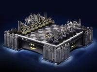 DC Comics: Batman - Illuminated Pewter Chess Set