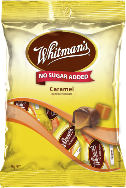 Whitmans No Sugar Added Dairy Caramels 85g