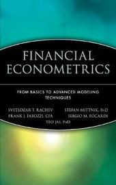 Financial Econometrics by Frank J Fabozzi