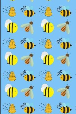 Bees and Honey Notebook by Janice H McKlansky Publishing