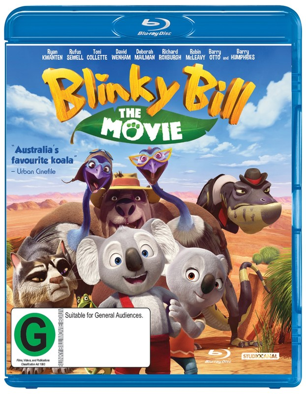 Blinky Bill - The Movie on Blu-ray