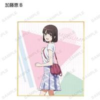 Saekano: Original Illustration Trading Mini Shikishi - Blind Box