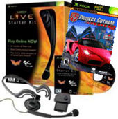 Xbox Live Starter Kit + Project Gotham Racing 2 for Xbox