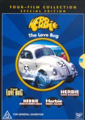 Herbie Box Set (4 Disc) on DVD