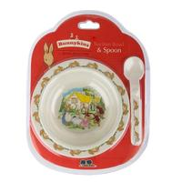Bunnykins Suction Bowl & Spoon - Royal Doulton
