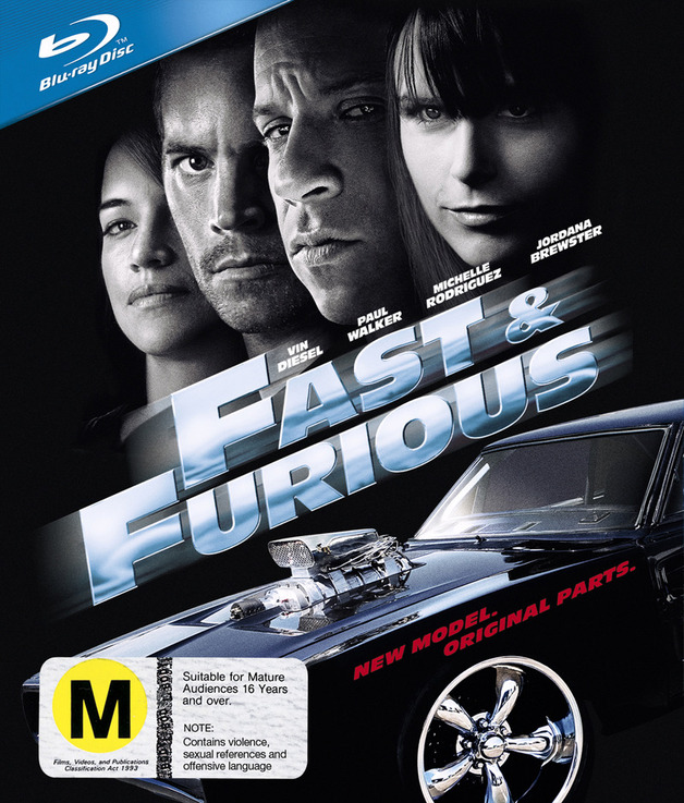Fast & Furious - Limited Edition Steel Packaging on Blu-ray